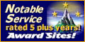 This award program has been rated by Award Sites! for at least five years... providing notable service through Bettering The Net by Striving for Excellence!  - received 08.05.2007